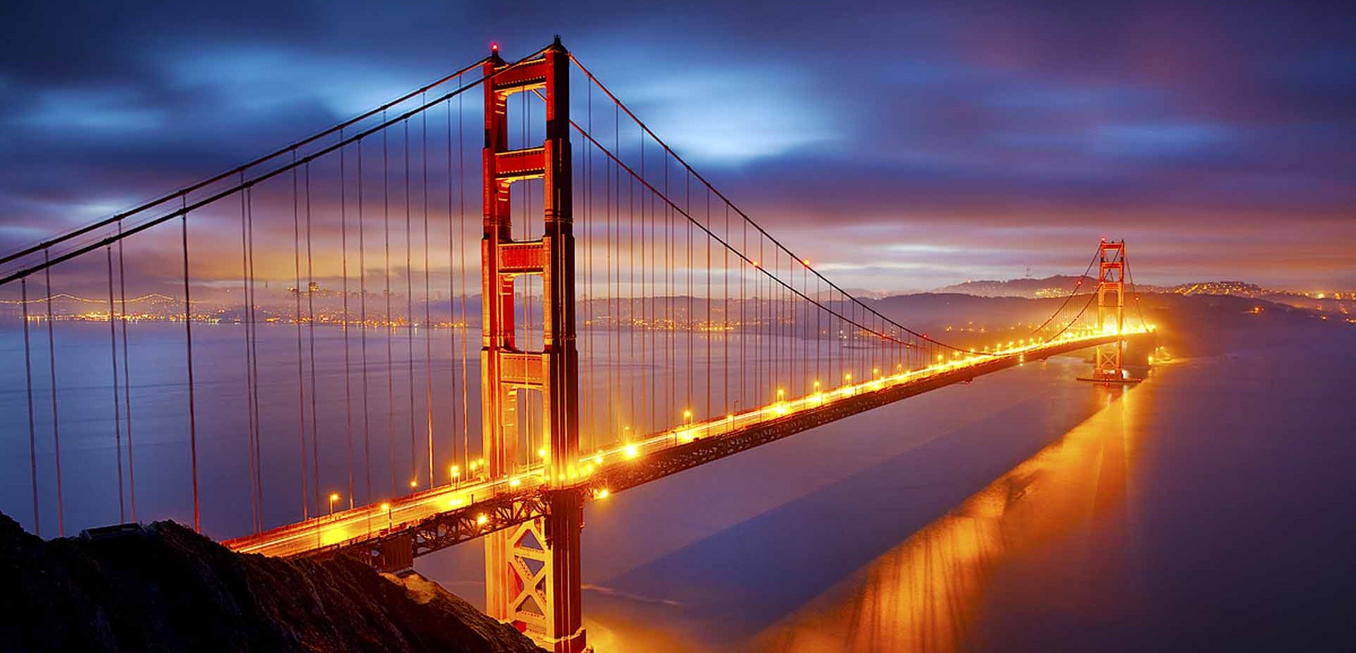 Cầu Cổng Vàng biểu tượng của thành phố San Francisco