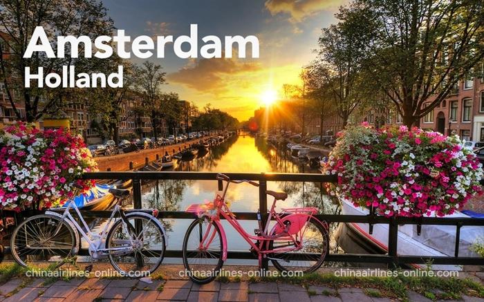 Thành phố Amsterdam - Hà Lan