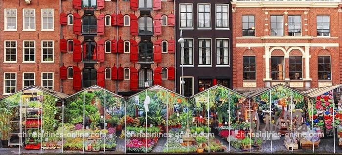 Chợ hoa Bloemenmarkt