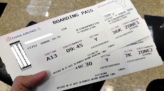 Điều kiện đổi vé máy bay China Airlines