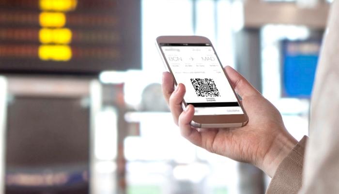 Thẻ lên máy bay điện tử trên di động China Airlines